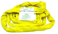BA Round Recovery Sling Yellow Endless Loop 3 Inch