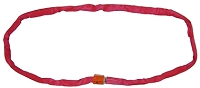 BA Round Recovery Sling Red Endless Loop 5 Inch