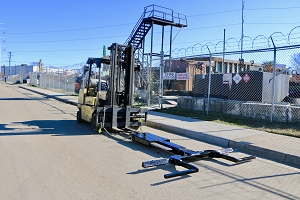 Dynamic Fork Lift Attachment