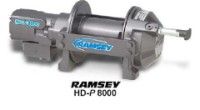New Ramsey Heavy Duty Planetary 8,000lb Winch