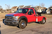 2016 Ford F450 with Dynamic 701 and Poly Fenders