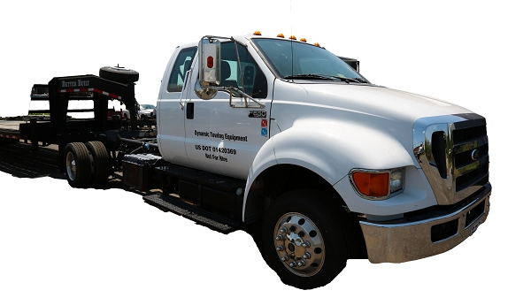 2012 F-650 with 43 ft Gooseneck Trailer