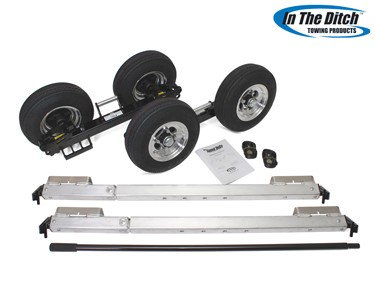 4.8 Aluminium Dolly Set (Black)- In The Ditch