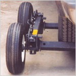 Self Loading Dolly Set- Aluminum Axles