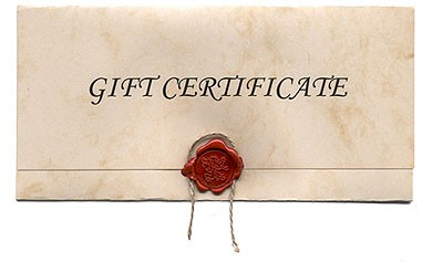 Gift Certificate $50.00 Value