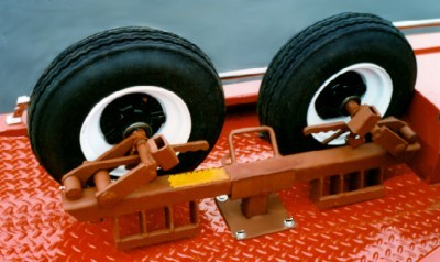 Car Tow Dolly >> Dolly Wheel Mounting Brackets