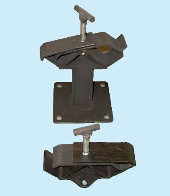 Axle Tube Mounting Brackets