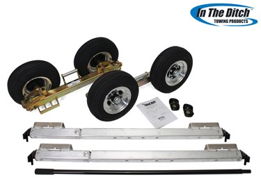 4.8 Aluminium Dolly Set (Zinc) - In The Ditch