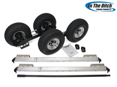5.7 Aluminium Dolly Set (Black)- ITD SLX X-Series