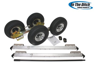 5.7 Aluminium Dolly Set (Zinc)- In The Ditch